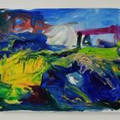 o.T. 2020,40 x50 cm, Öl auf Leinwand, André d´Orcay