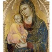 Barnaba da Modena (Modena um 1328/30 - nach 1386) Madonna mit Kind, 1367 Copyright © 2010 Städel Museum.