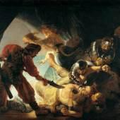 Rembrandt Harmenesz. van Rijn (1606-1669) Die Blendung Simsons, 1636  Copyright © 2010 Städel Museum.