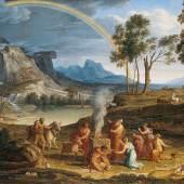 Joseph Anton Koch (1768-1839) Landschaft mit Dankopfer Noahs, 1803  Copyright © 2010 Städel Museum