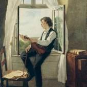 Otto Scholderer (1834-1902) Der Geiger am Fenster, 1861 Copyright © 2010 Städel Museum