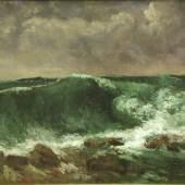 Gustave Courbet (1819-1877) Die Woge, 1869 Öl auf Leinwand, 63 x 91,5 cm Städel Museum, Frankfurt am Main Foto: Städel Museum - ARTOTHEK Eigentum des Städelschen Museums-Vereins