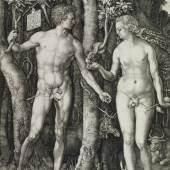 Albrecht Dürer (1471–1528) Adam und Eva (Der Sündenfall), 1504 Kupferstich, 24,9 x 19,2 cm Städel Museum, Frankfurt am Main, Graphische Sammlung © Städel Museum, Frankfurt/ Main