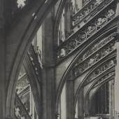 Königlich Preußische Messbild-Anstalt (gegr. 1885) Köln: Dom, 1889 Silbergelatine-Abzug auf Karton, 79.8 x 64.5 cm Städel Museum, Frankfurt am Main Foto: Städel Museum – ARTOTHEK