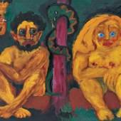Emil Nolde (1867–1956) Verlorenes Paradies, 1921 Öl auf Leinwand, 106,5 x 157 cm Nolde Stiftung Seebüll © Nolde Stiftung Seebüll