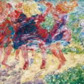 Emil Nolde (1867–1956) Wildtanzende Kinder, 1909 Öl auf Leinwand, 71,5 x 87 cm Kunsthalle zu Kiel © Nolde Stiftung Seebüll