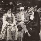 Wiens Bürgermeister Karl Lueger in Lovran, 1909 Fotografie © Wien Museum