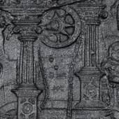 Ofenplatte Christus und die Samariterin am Brunnen VK94029