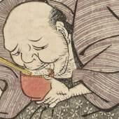 Der zehnte Monat, Utagawa Toyokuni, Japan, um 1802, Copyright: Linden-Museum Stuttgart, Foto: Anatol Dreyer