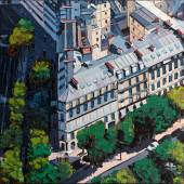 """((Bild Oliver-Weiller-Paris-Avenues-Matignon-Gabriel; Bildnachweis: Oliver Weiller)): """"Paris Avenues Matignion/Gabriel"""" von Oliver Weiller, Künstler aus Wiesbaden."""
