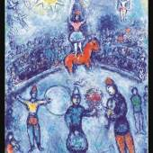 Marc Chagall (1887 - 1985)  Le Cirque 1979 - 81  Oil on canvas   Opera Gallery Group