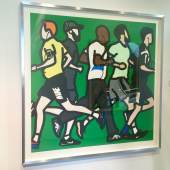 Julian Opie Runners