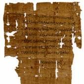 Orakelfrage des Asklepiades Griechisch, Papyrus Soknopaiu Nesos,  26. April 6 n.Chr.
