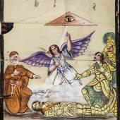 Tafel zu «Orlando», erste Hälfte 20. Jh. Leimfarbe auf Papier, 149 x 130 cm Sammlung Würth, Künzelsau