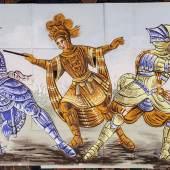 Tafel zu «Orlando», erste Hälfte 20. Jh. Leimfarbe auf Papier, 149 x 292 cm Sammlung Würth, Künzelsau
