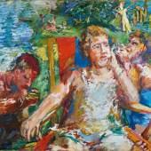 Oskar Kokoschka Im Garten II, 1934 Öl auf Leinwand Albertina, Wien. Sammlung Batliner