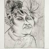 Otto Dix (1891-1969), mit dem Titel Dame, seinen Preis von 8.000 Euro auf 21.000 Euro steigern konnte.