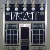 """Portal des Depeschenbüros """"Die Zeit"""", Entwurf: Otto Wagner, 1902 (Rekonstruktion 1985) © Wien Museum"""