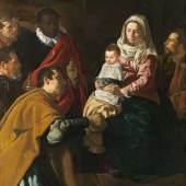 Anbetung der Könige (0.9 MB) Diego Velázquez 1619 203 x 125 cm © Photographic Archive, Museo Nacional del Prado, Madrid