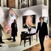 Vernissage: 72. NÖ Kunst- und Antiquitätenmesse 2018 (c) findART.cc Foto frei von Rechten.