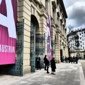 12. ART AUSTRIA im Gartenpalais Liechtenstein 2019, Ansicht Gartenpalais Liechtenstein (c) findART.cc Foto frei von Rechten.