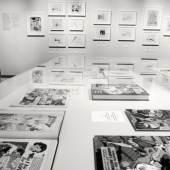 """Ausstellungsimpressionen """"Dir drei mit dem Stift"""" (c) August 2019, findART.cc Foto frei von Rechten."""