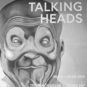 """Ausstellungsansicht """"Talking Heads"""" (c) August 2019,  findART.cc Foto frei von Rechten."""