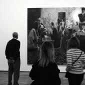 """Ausstellungsansicht """"Warhol bis Richter."""" Jörg Immendorff 1945-2007 Ohne Titel 2019 (c) findART.cc Foto frei von Rechten."""