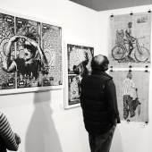 Vernissage: 24. ART Innsbruck 2020, ART SOUTH AFRICA c) findART.cc Foto frei von Rechten.