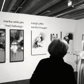 Vernissage: 24. ART Innsbruck 2020, marika wille-jais, manfred hellweger, margit piffer, sandra brugger (c) findART.cc Foto frei von Rechten.