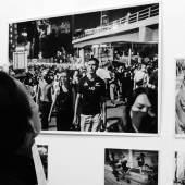 "Vernissage ""Stand With Hong Kong Journalists"" (c) findART.cc Foto frei von Rechten."