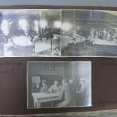 Fotoalbum aus der Zeit des Ersten Weltkriegs - das Leben einer Krankenschwester. Es gibt 8 solcher Alben sowie frühere und spätere Familienalben.