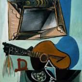 Pablo Picasso Stillleben mit Gitarre, 1942 Albertina, Wien - Sammlung Batliner © Succession Picasso / VBK, Wien 2009. Foto: © Fotostudio Heinz Preute, Vaduz