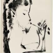 Pablo Picasso,Pan, 1948, Pinsel auf Zink,76,7 x 56,3cm, KPPM