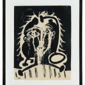 Pablo Picasso - Figure avec rayons