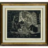 Pablo Picasso - Variation Sur Le Dejeuner Sur L'Herbe De Manet
