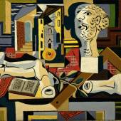 Atelier mit Büste und Gipsfragmenten, 1925, The Museum of Modern Art, New York, © Succession Picasso / VG Bild-Kunst, Bonn 2015