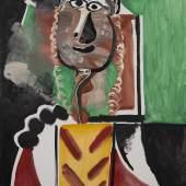 Pablo Picasso, Buste d'homme