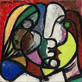 Pablo Picasso, Tête de Marie-Thérèse (Head of Marie-Thérèse), 1932-1934 © 2018 Estate of Pablo Picasso  Artists Rights Society (ARS), New York