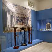 """Neue Dauerausstellung in Paretz: Blick in den Raum """"Wohnen in Stadt und Land"""". Foto: Wolfgang Pfauder/SPSG (5.64 mb) © SPSG / Foto: Wolfgang Pfauder"""