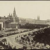 Blick auf das Parlament Fotograf unbekannt um 1882