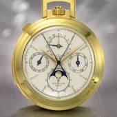 Patek Philippe, Yellow Gold Chronograph Open-Fac…r