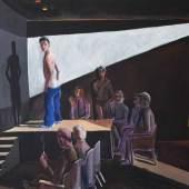 Patrick Angus, Boys Do Fall in Love, 1984, Acryl auf Leinwand, 122 x 168 cm