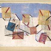 Paul Klee  Kojen, 1930 Museum Ludwig Köln, Leihgabe aus Privatbesitz