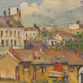 Paul Cézanne | Die Dächer, 1876/77 | Dauerleihgabe an Hahnloser/Jaeggli Stiftung, Villa Flora, Winterthur Foto: Reto Pedrini, Zürich