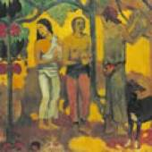 Paul Gauguin Faa Iheihe 1898 Öl auf Leinwand / Oil on canvas / Huile sur toile 54 x 169,5 cm