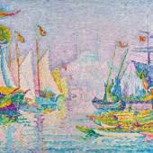 Paul Signac, La Corne d'Or. Matin, 1907, oil on canvas, 73 by 92cm. (est. £5,000,000 – 7,000,000)