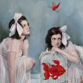 Anfuso Elisa, solitud-se n.3, 2011, Mischtechnik a.Lw, 100x70cm, Galerie Augustin, Wien+Innsbruck- A