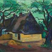Lot 22 Hermann Max Pechstein Herbstwolken. 1927 Öl auf Leinwand, 80 x 100 cm Signiert und datiert Schätzpreis: € 350.000 – 450.000,-