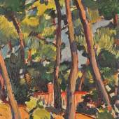Peploe, The House in the Woods